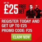 Ladbrokes - £25 Free Bet