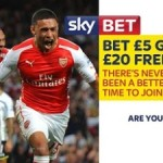 SkyBet - Bet £5 get a £20 Free Bet