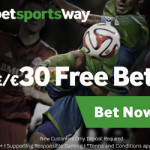 Betway – £30 Free Bet