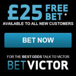 BetVictor – £25 Free Bet